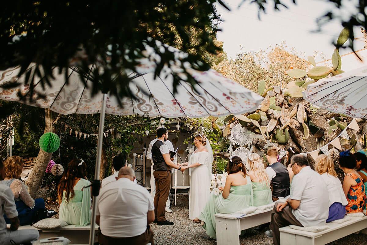 Hidden Bar Ibiza wedding photography