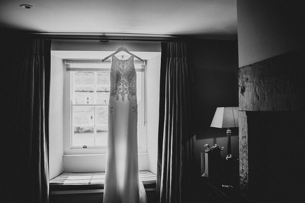 Healey Barn wedding - Bride's dress