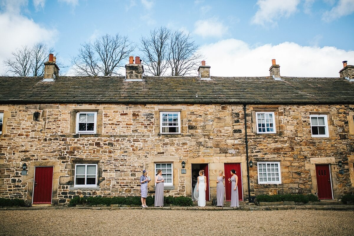 Rustic barn wedding Northumberland