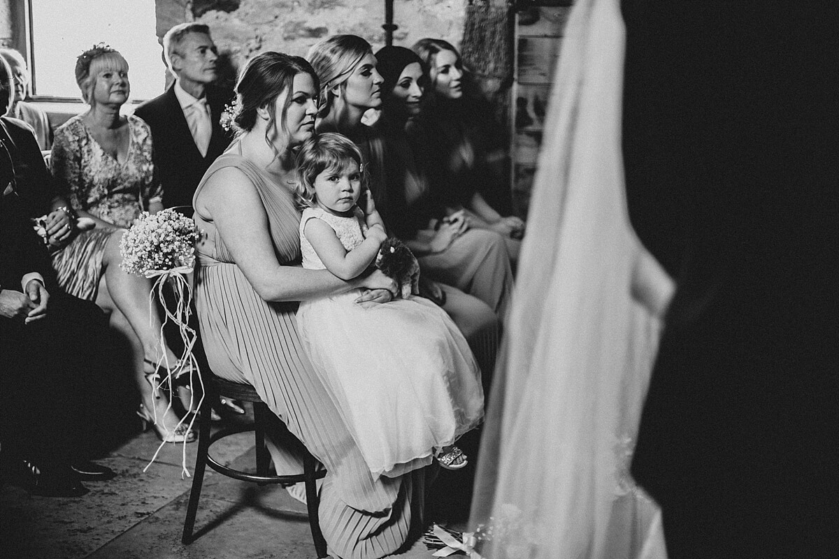 Rustic wedding Northumberland
