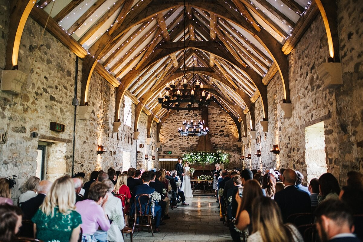 Beautiful rustic wedding venue