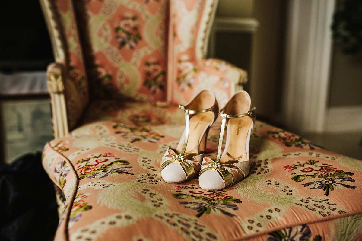 Rachel Simpson bridal shoes