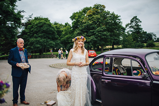 Rivington Barn Wedding in Lancashire