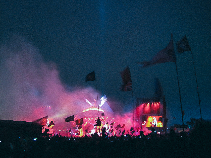 The Rolling Stones, Glastonbury 2013
