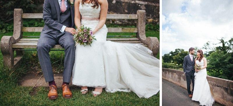 Wedding portraits in Ashbourne