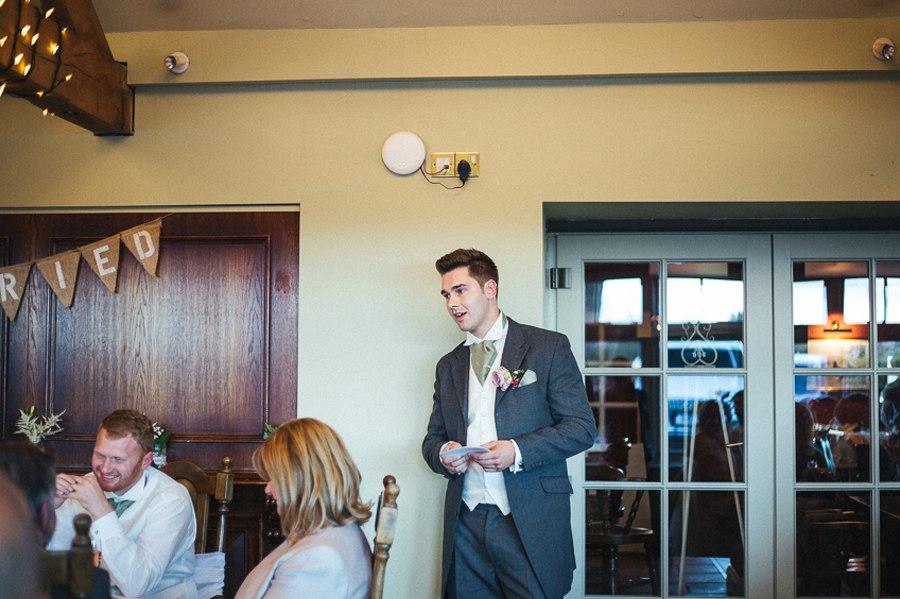 Wedding speeches Alma Inn