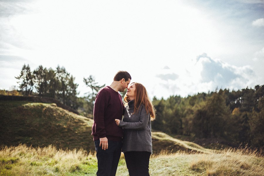 Natural engagement photography Cheshire
