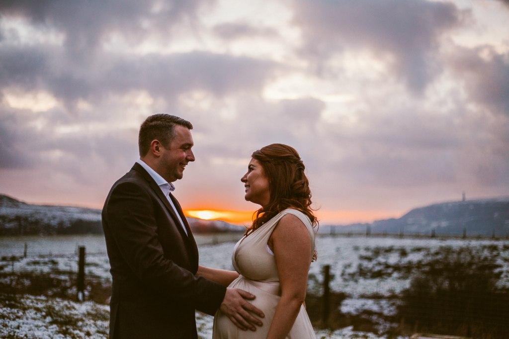 Fishermans Retreat Wedding Sunset