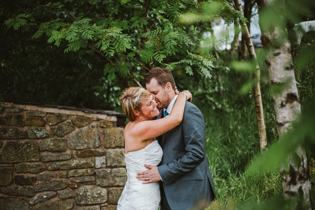 Natural wedding photographer Lancashire