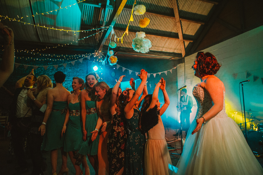 Festival Wedding Yorkshire - Barmbyfield Barns