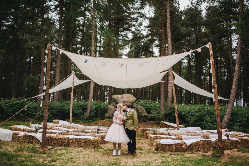 Bivouac Wedding - Woodland Wedding York