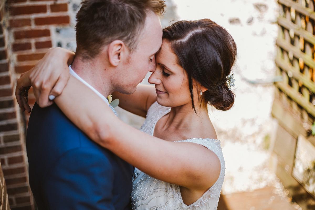 Upwaltham barns wedding portrait