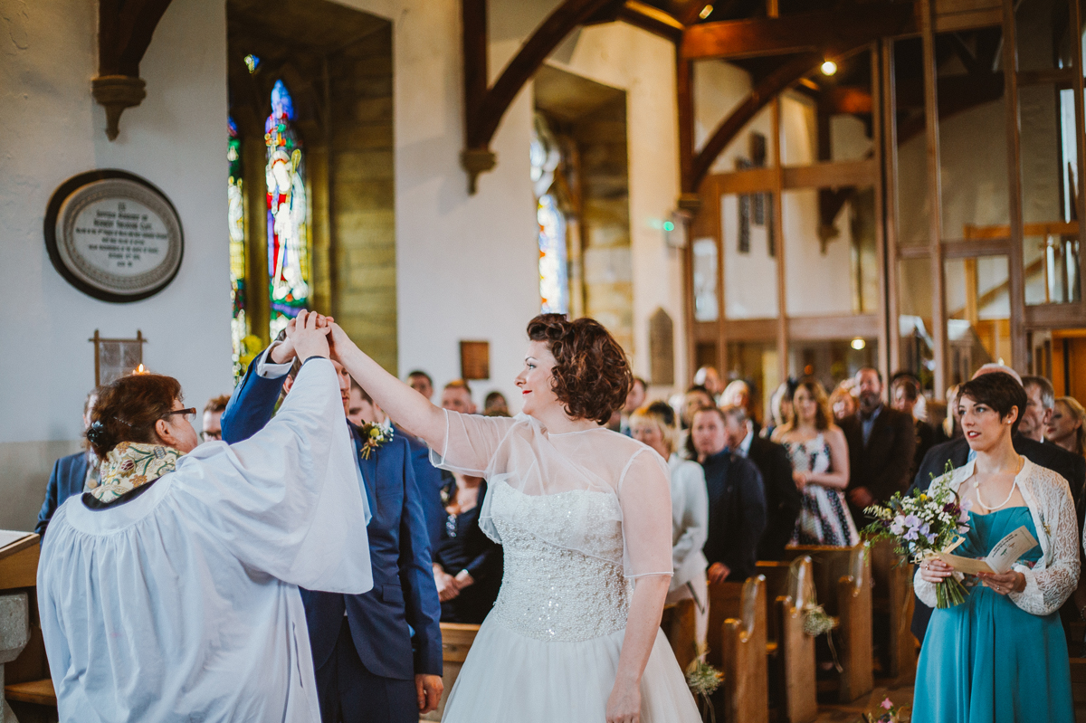 Church ceremony Yorkshire