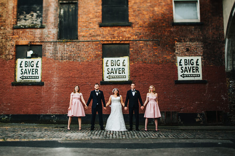 Creative wedding photography Manchester