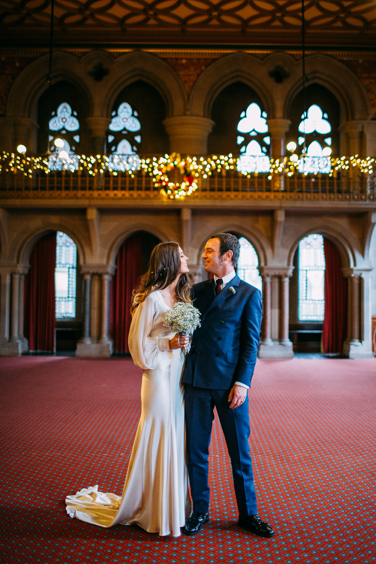 Beautiful wedding portraits Manchester