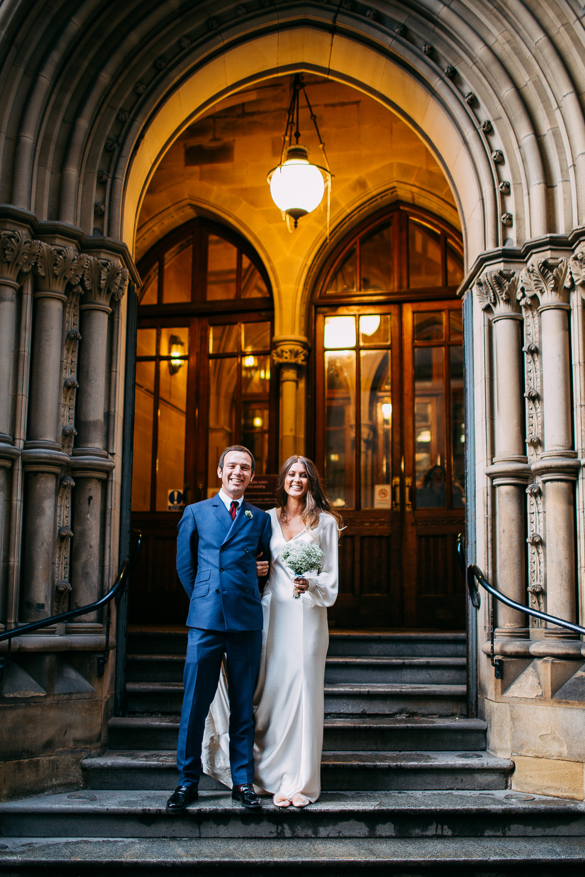 70s inspired wedding Manchester