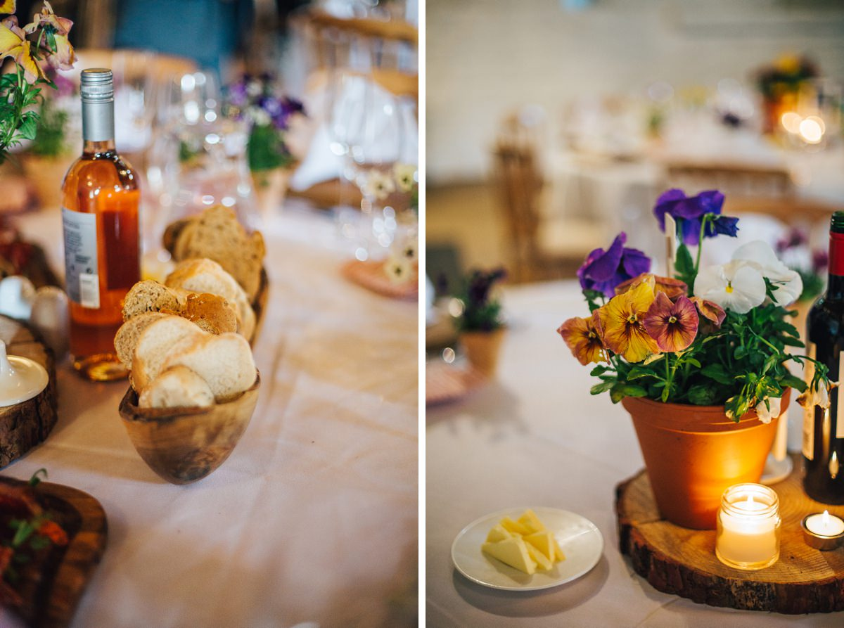Rustic wedding details, Yorkshire wedding.