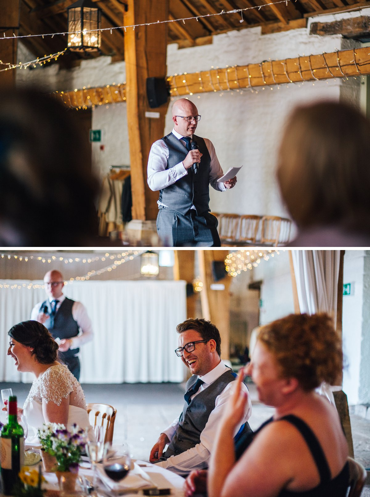 East Riddlesden Hall speeches. Documentary wedding photography.