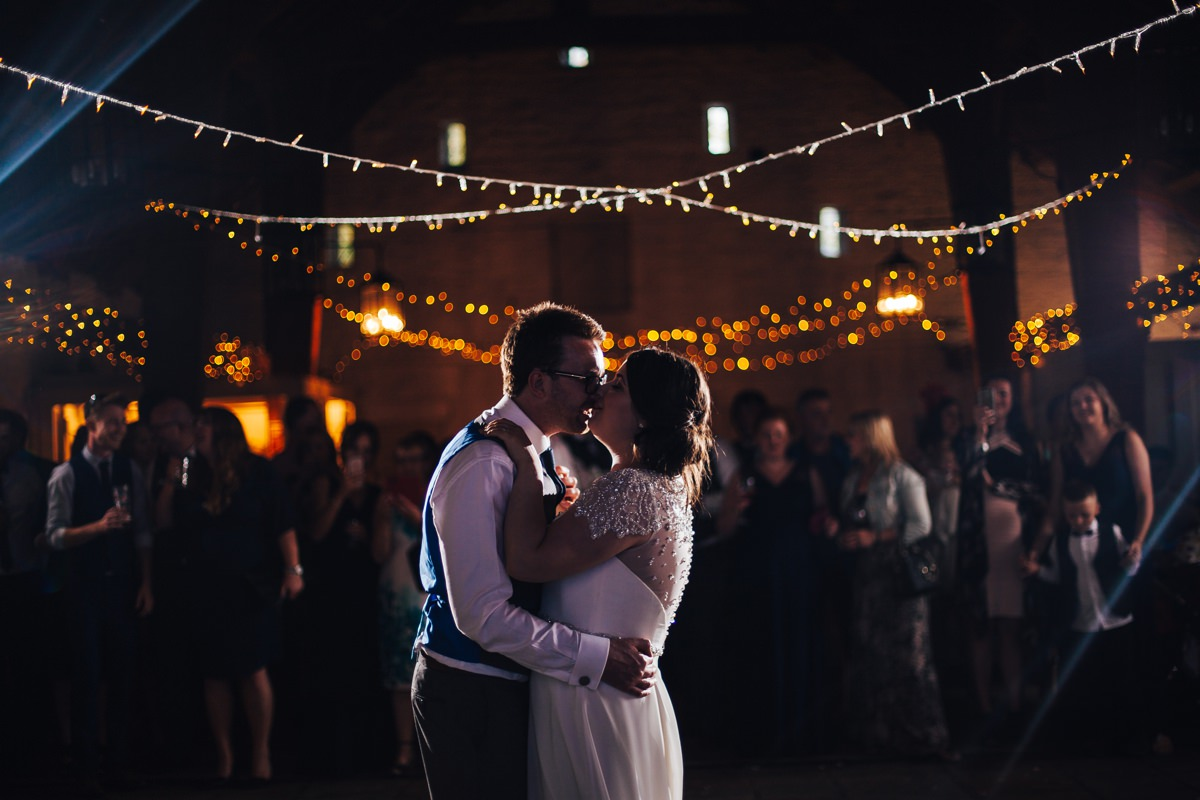 East Riddlesden Hall wedding Barn. First Dance.