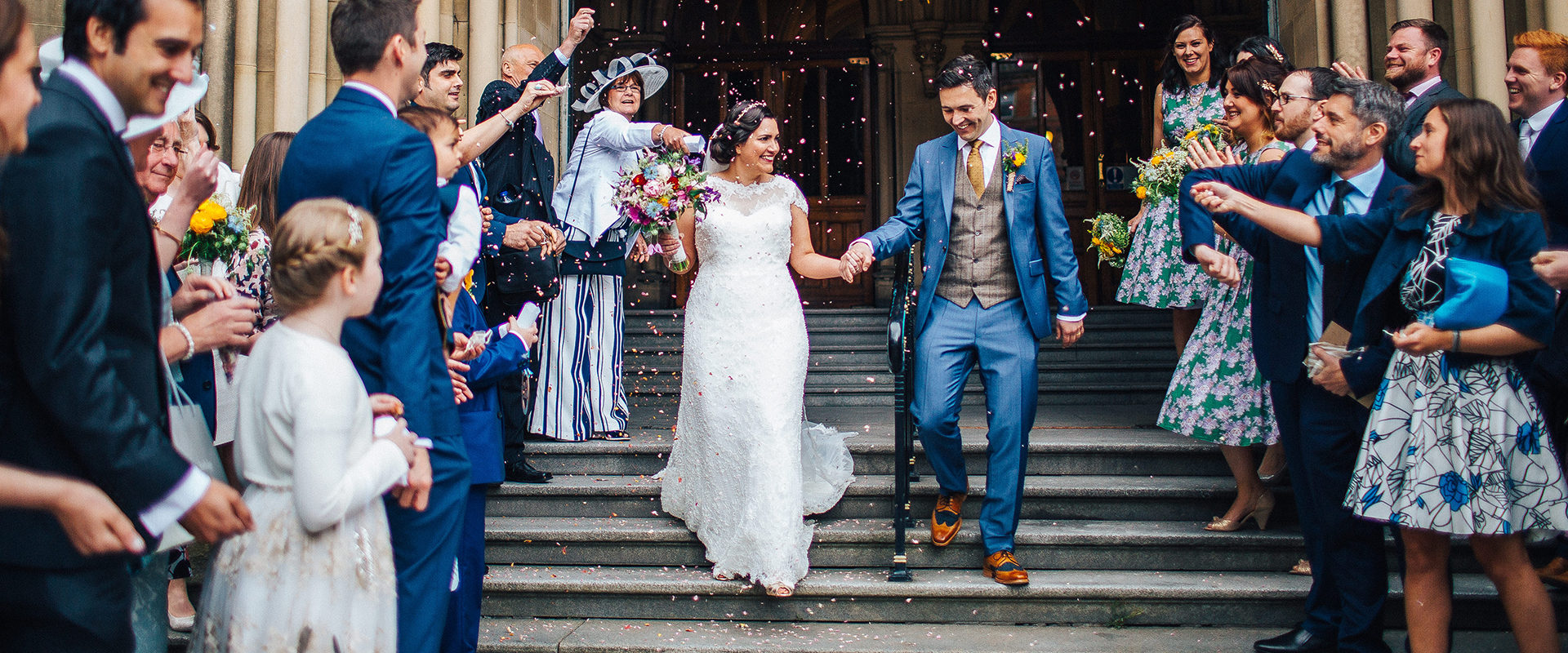Relaxed Wedding at Manchester Town Hall
