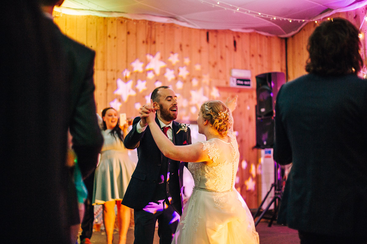 First dance at the Wellbeing Farm