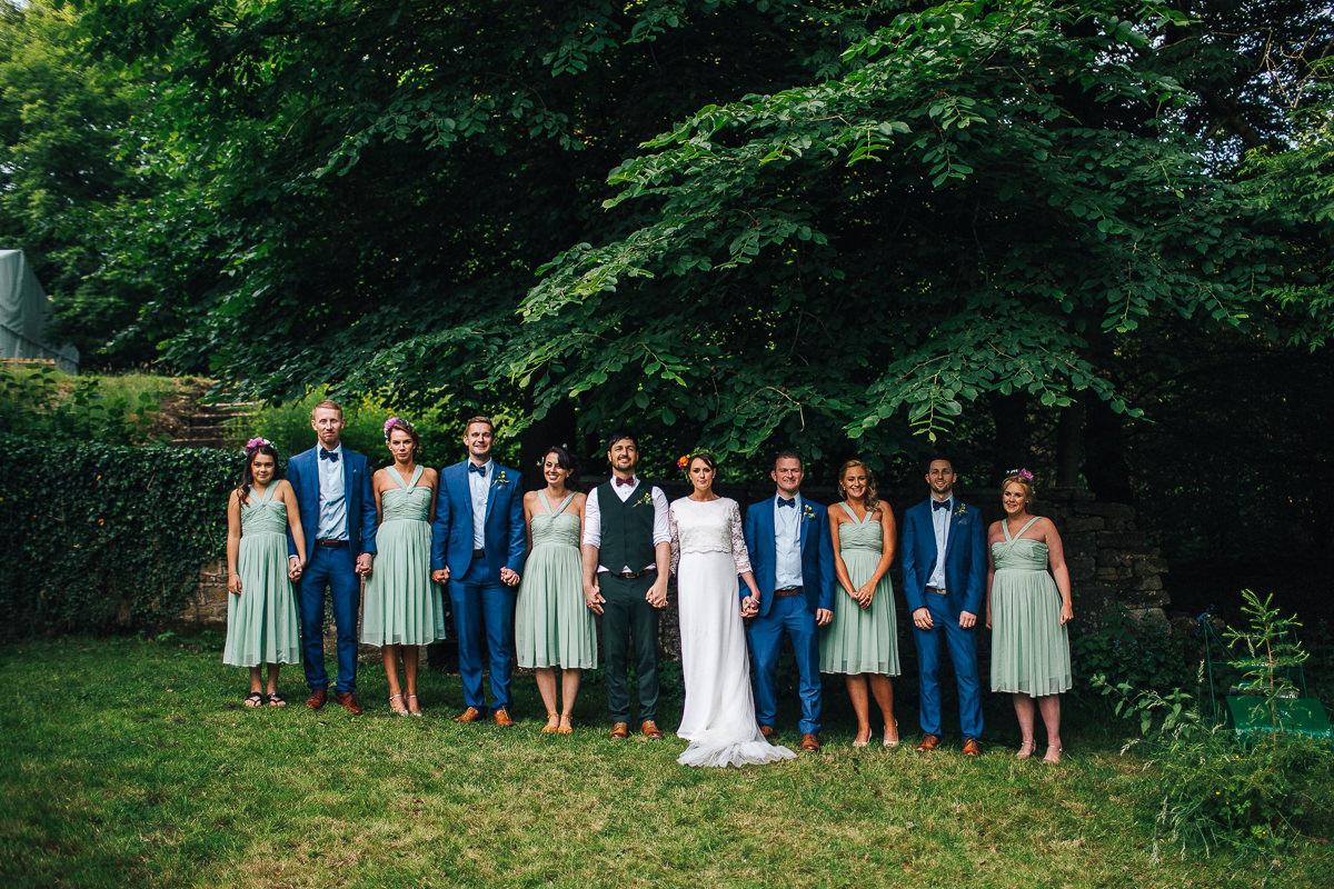 Relaxed outdoor wedding Rivington