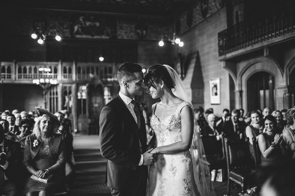 Manchester Town Hall ceremony