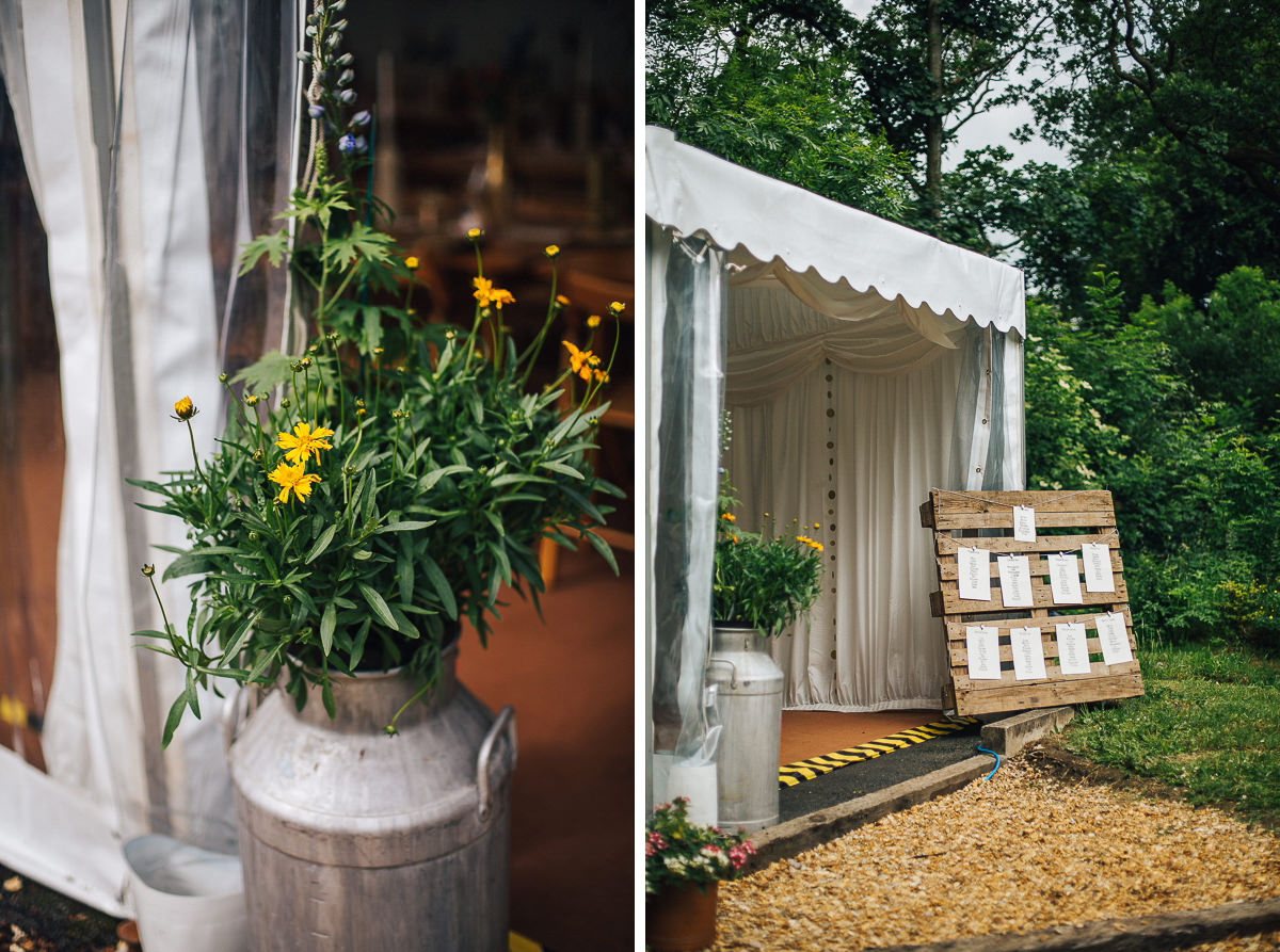 Rustic country wedding Rivington