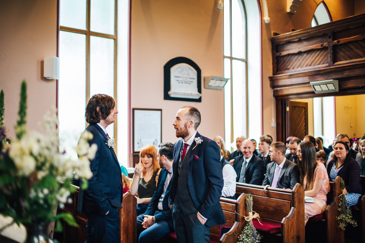 Tockholes Chapel wedding photography