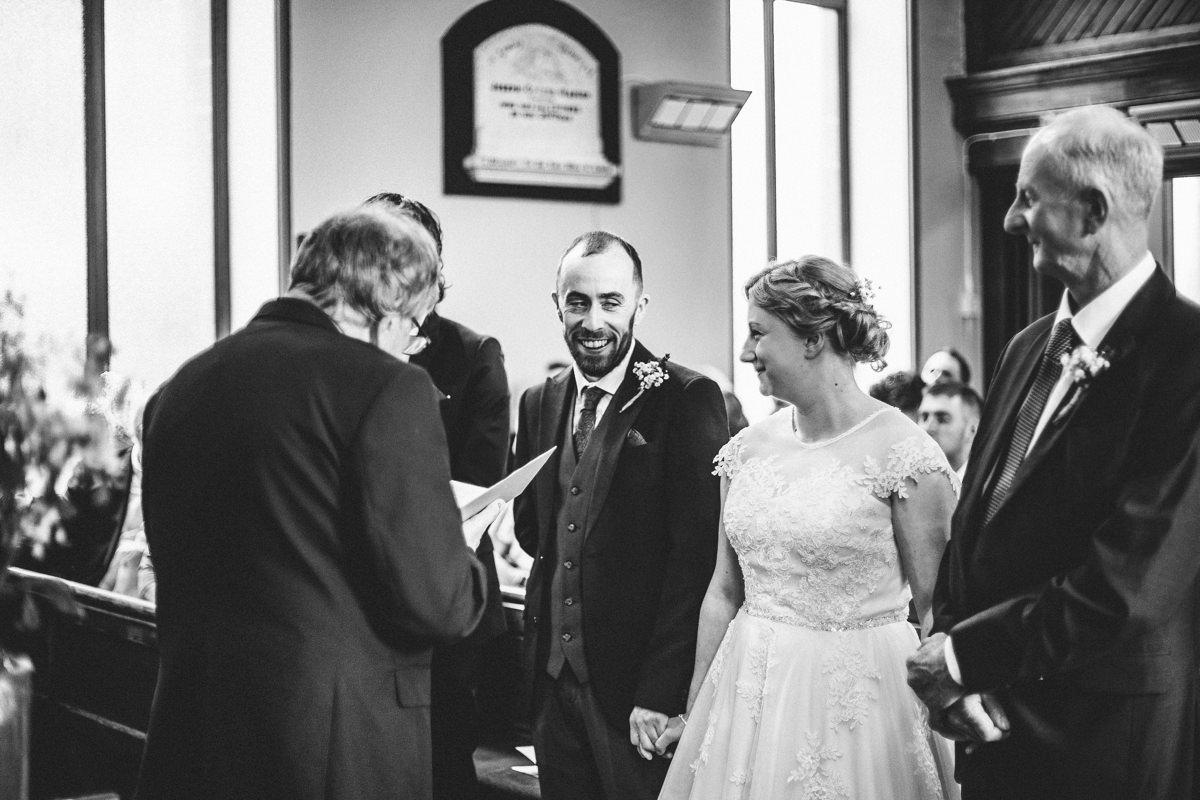 Church wedding photography Lancashire