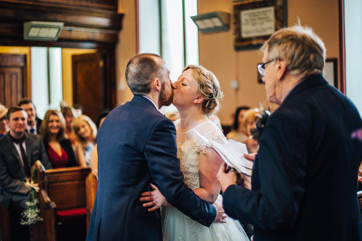 Beautiful Lancashire wedding ceremony