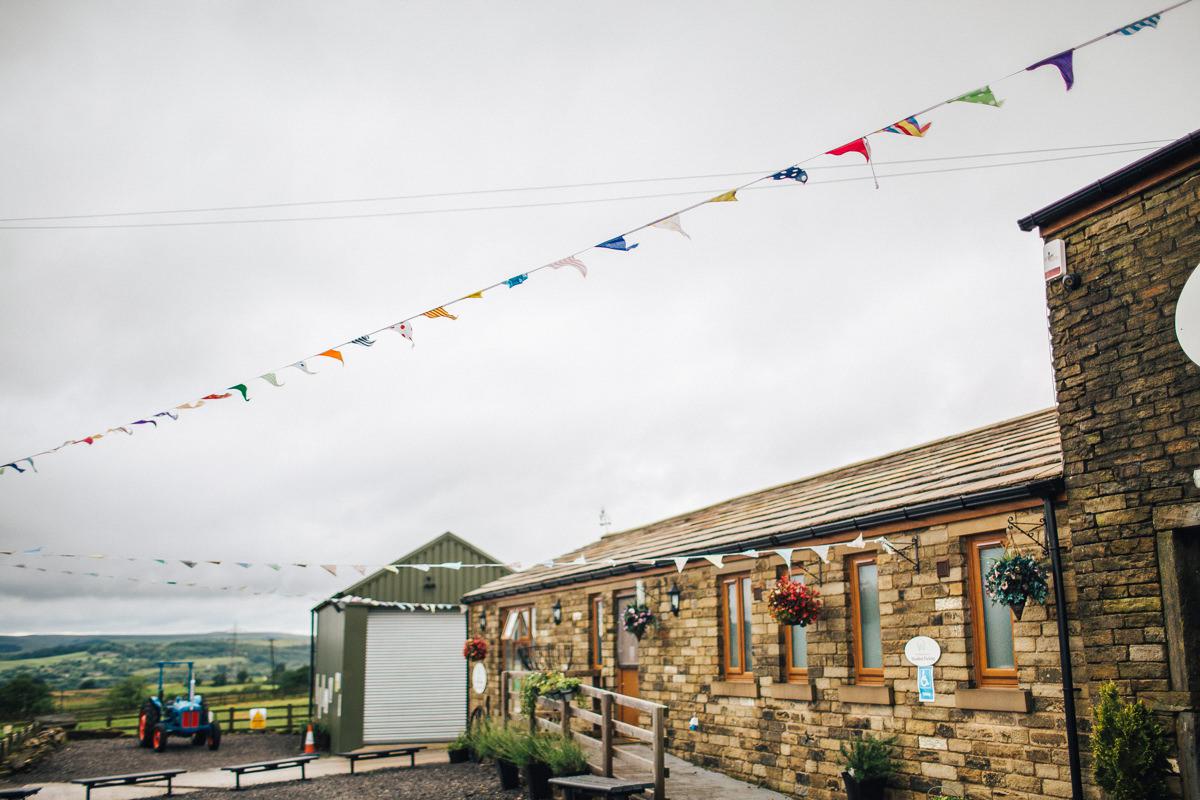 Quirky farm venue Lancashire