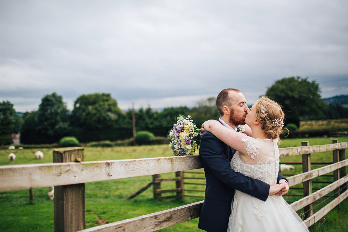 Wellbeing Farm Wedding - Relaxed photography