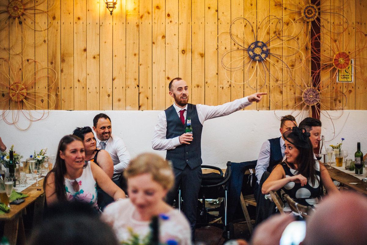 Wedding speeches Wellbeing Farm