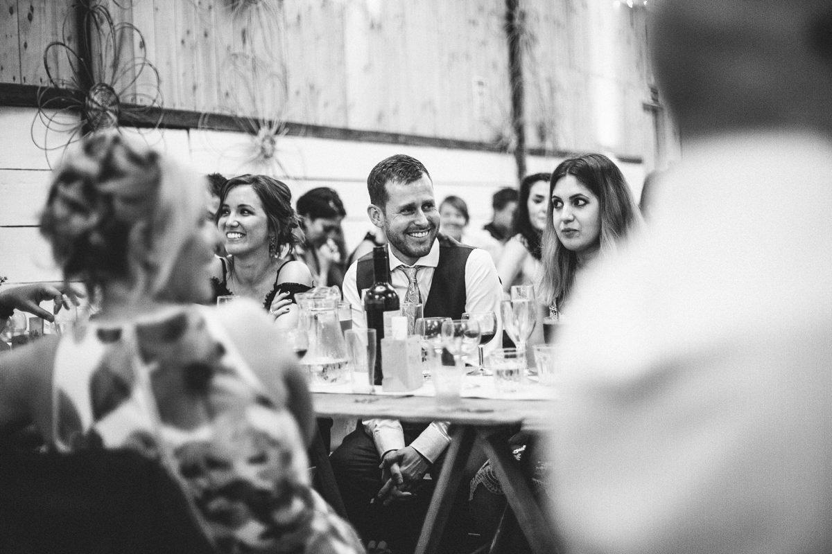 Farm wedding speeches
