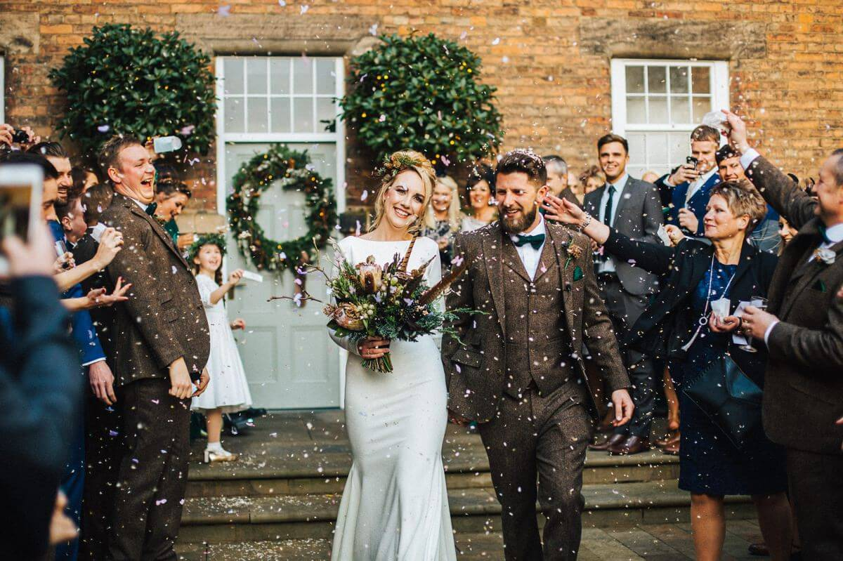 Industrial wedding in Derbyshire
