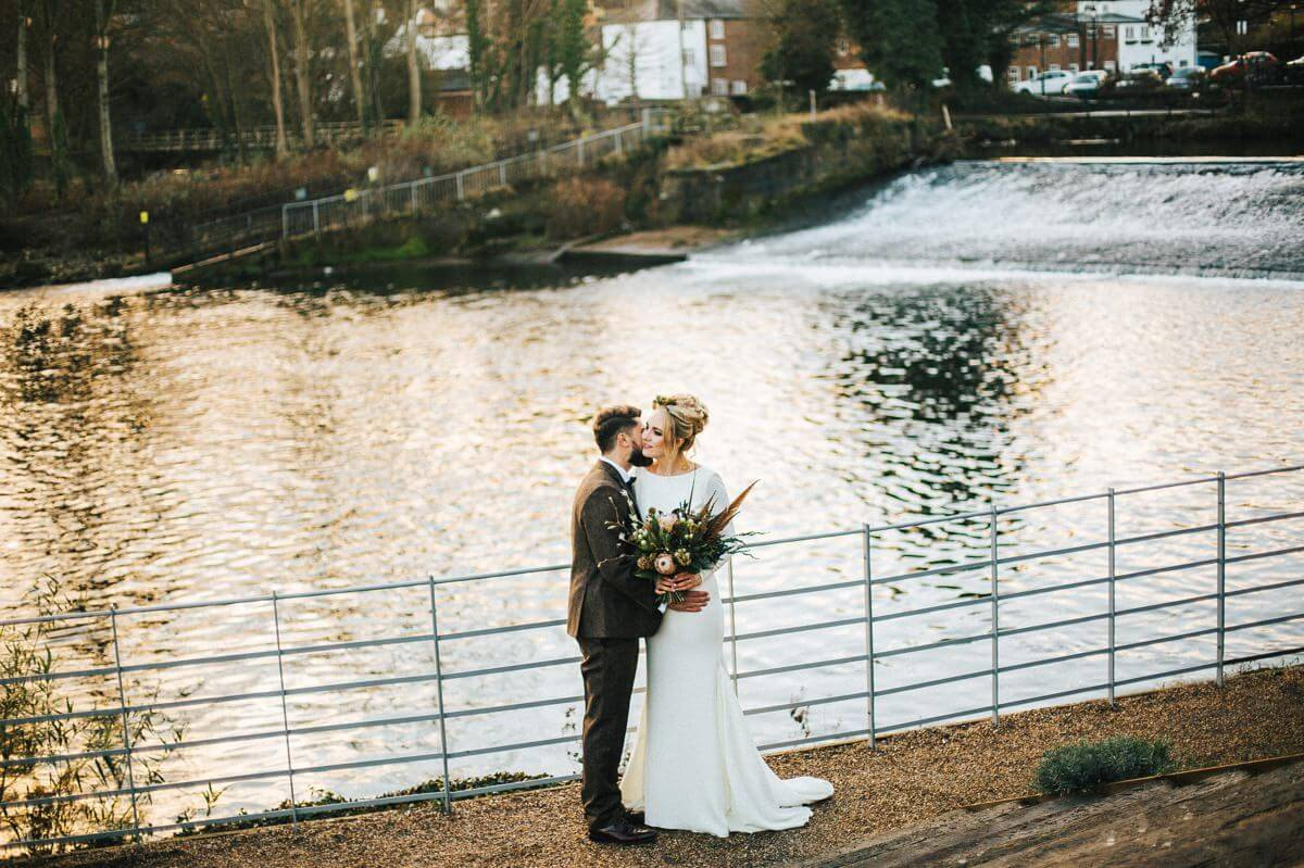 Industrial wedding Derbyshire
