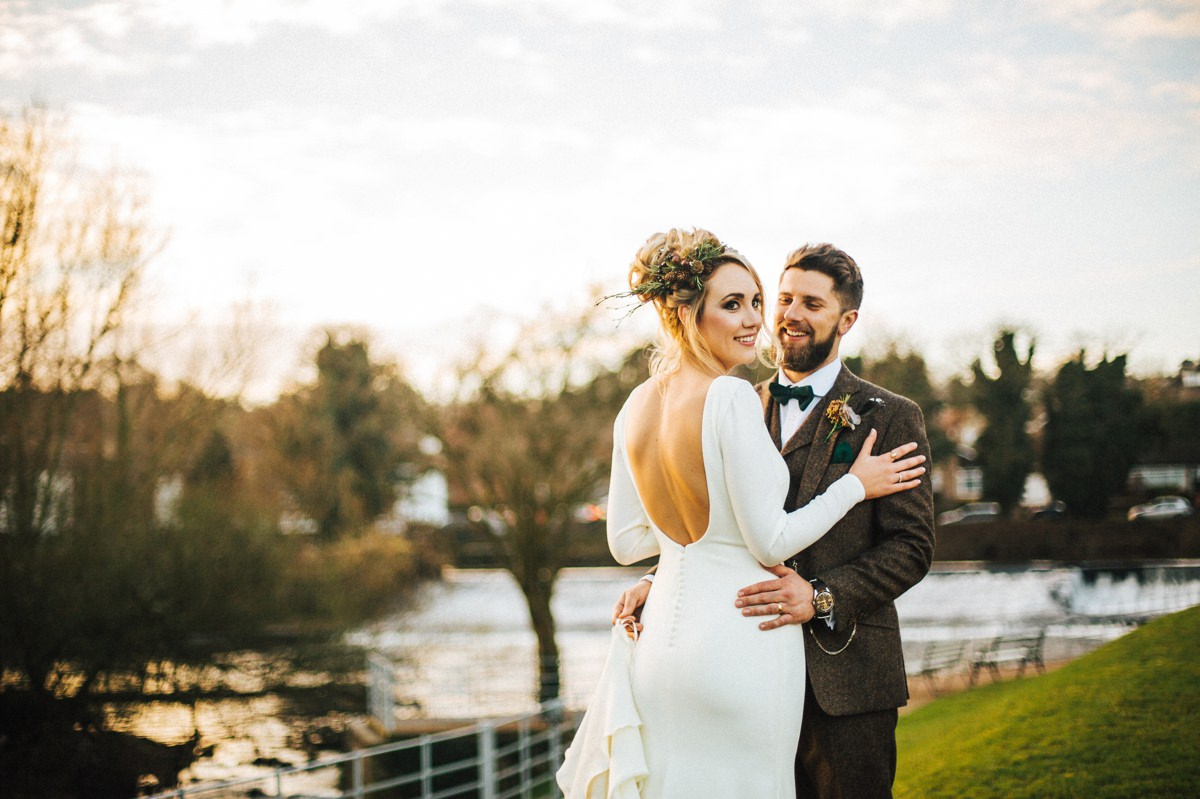 Relaxed Industrial wedding