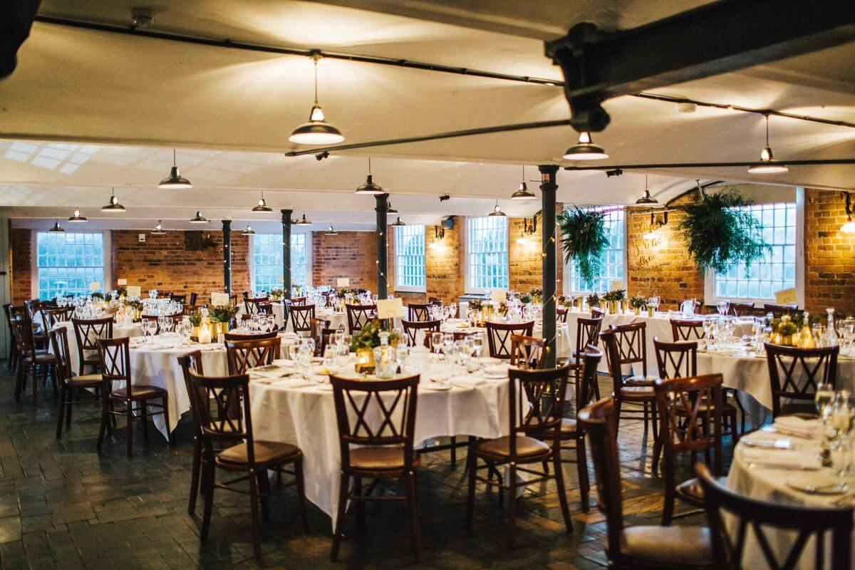 Industrial wedding at the west mill