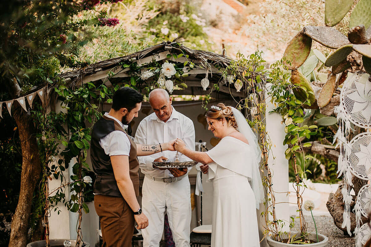 Ceremony at Hidden Bar Ibiza