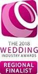 2018 Wedding Industry Awards Finalist