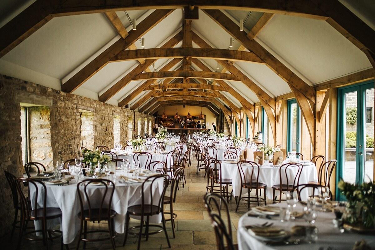 Healey Barn venue decor