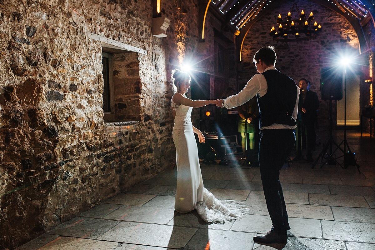 Rustic wedding Healey Barn