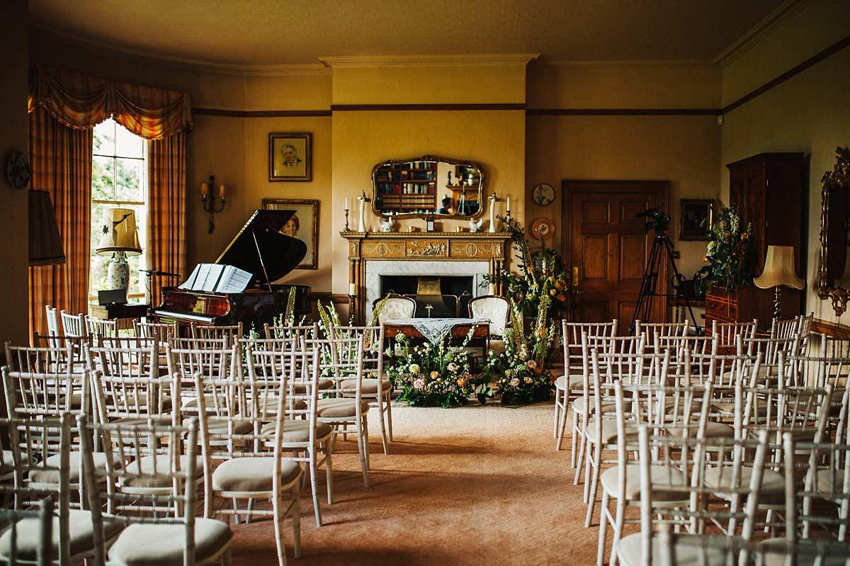 Ceremony room at East Bridgford Hill