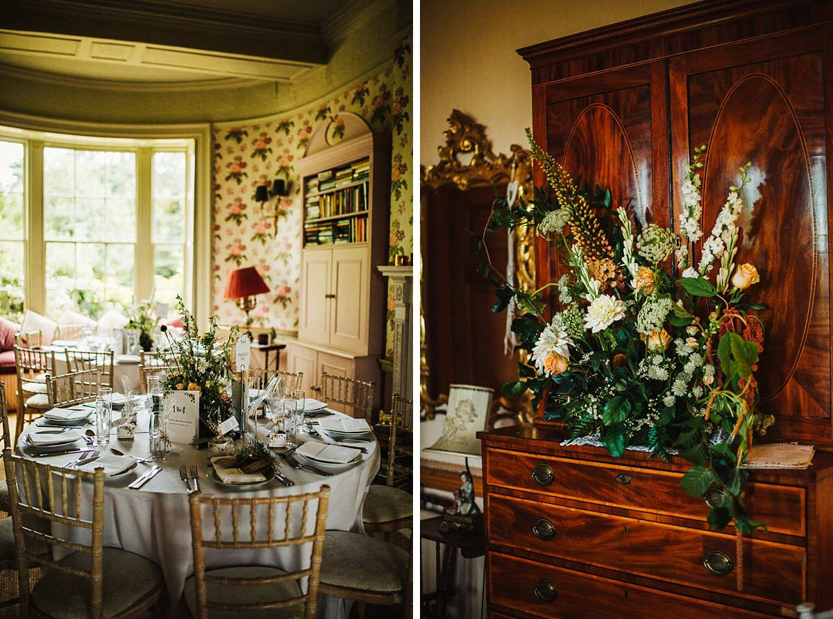 Swallow and Damsons wedding at East Bridgford Hill
