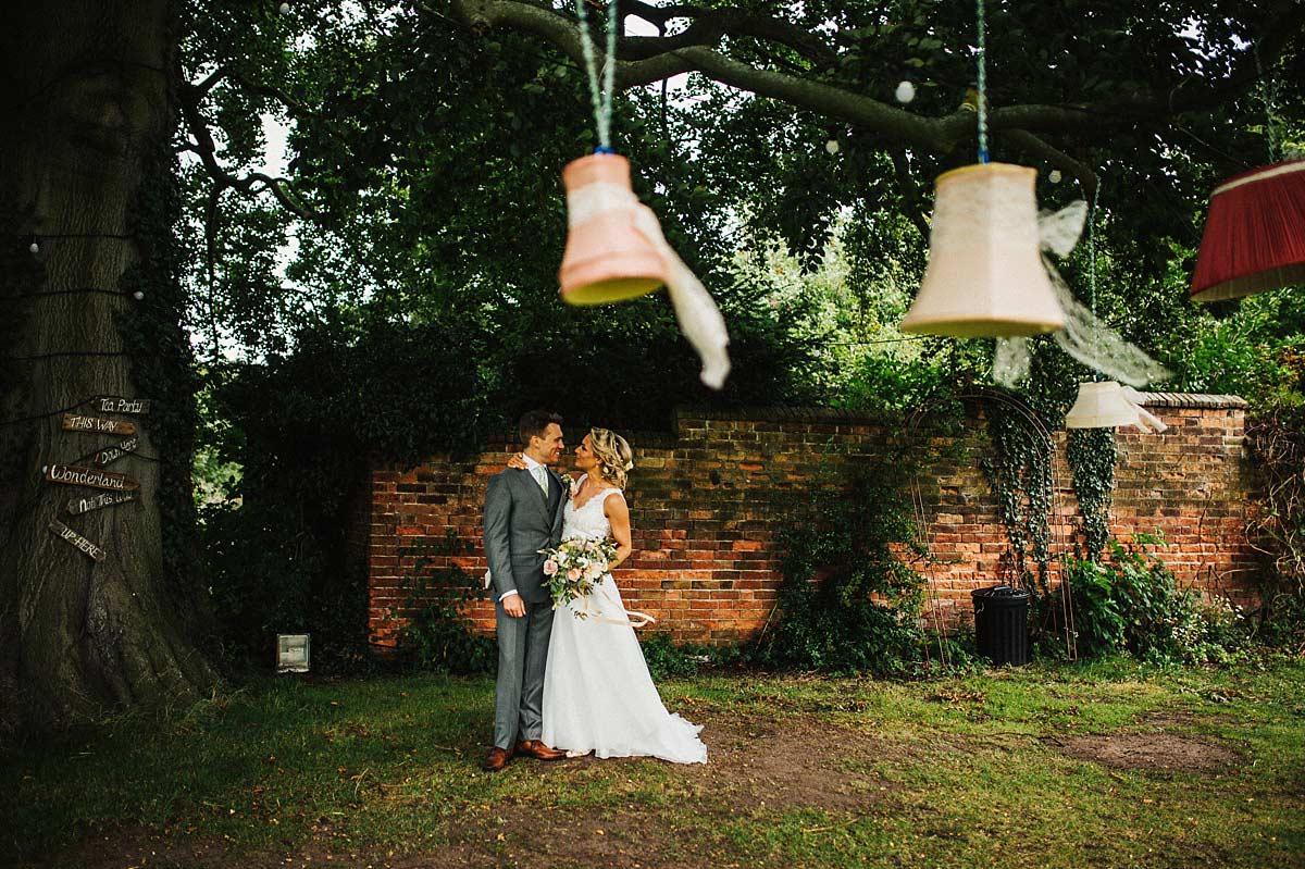 Woodland wedding Nottingham
