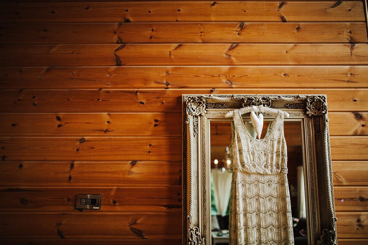 Monsoon beaded wedding dress