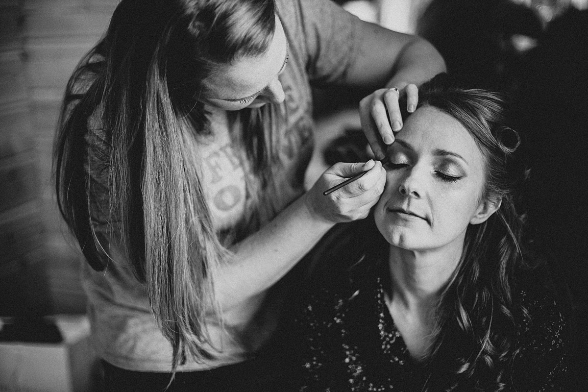 Wedding day makeup Styal Lodge