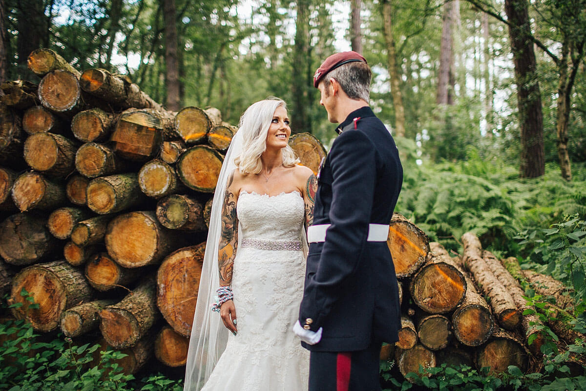 Tipi Delamere Forest wedding
