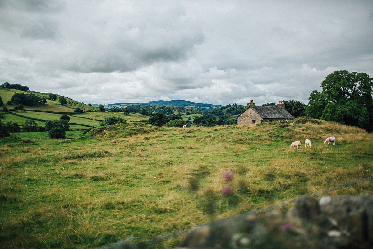 Lake District country side